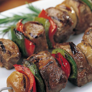 how to cook kabobs on electric grill