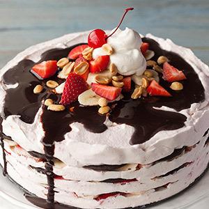 Kelsey Nixon Banana Split Icebox Cake