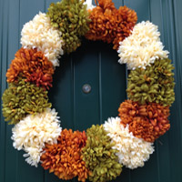 You Could Buy An Autumn Wreath For Your Front Door Or Make All Five Of These Gorgeous Crafts Just 75 Total
