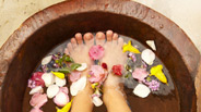Fruity Foot Bath Homemade Spa Treat