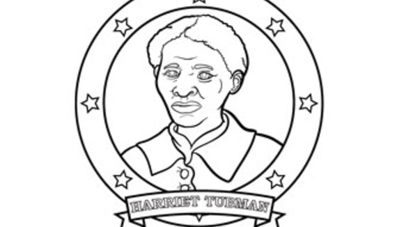 harriet tubman coloring pages - harriet tubman