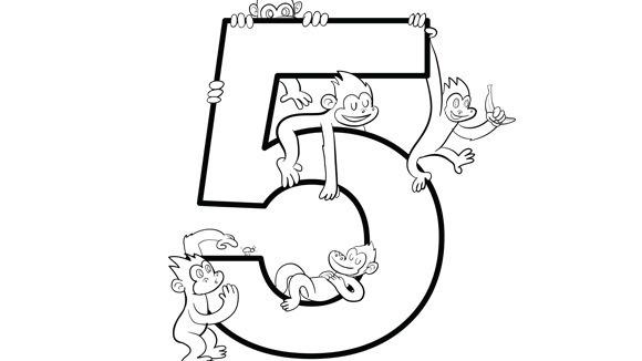Number Series Five Grandparents