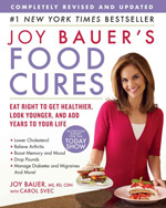 Joy Bauer's Food Cures Book Cover
