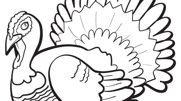 big thanksgiving coloring pages - photo#13