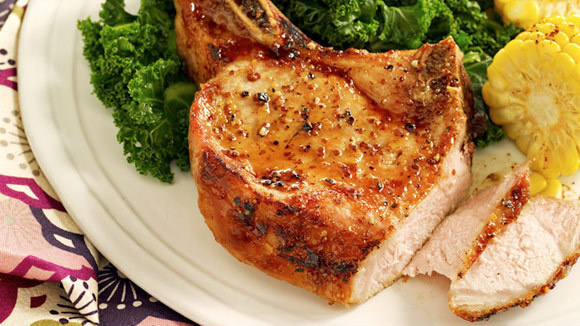 Honey Mustard Pork Chops - Grandparents.com