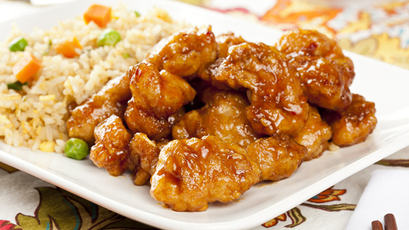 Chinese food orange chicken for 8 chinese cuisines
