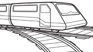 Transportation Train Coloring Page