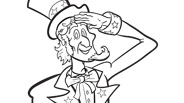 4th of July Coloring Page: Uncle Sam