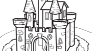 Castle | Princess Coloring Page