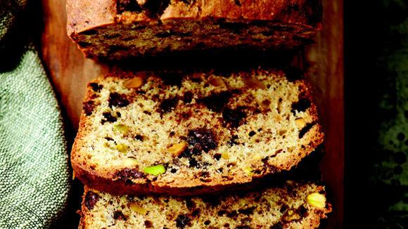 Chocolate Chip Pistachio Pound Cake - Grandparents.com