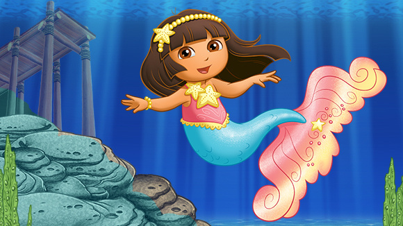 Sleepover Idea Mermaid Dora Extravaganza Grandparents Com