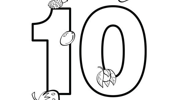 Number Series Ten