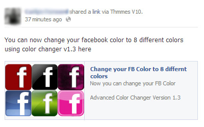 facebook color scam
