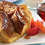 how to make french toast recipe for one person