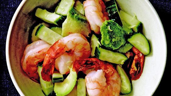 Shrimp and Cucumber Salad - Grandparents.com