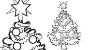 Christmas Coloring Page: Christmas Tree