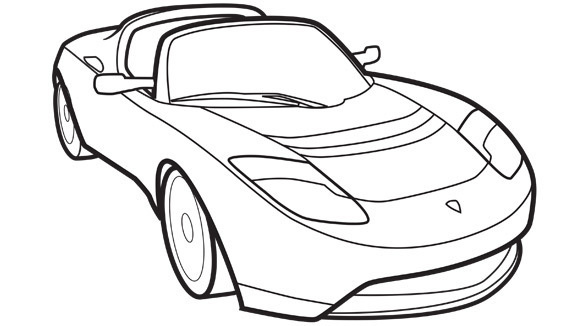 Sports car for Sports cars coloring pages