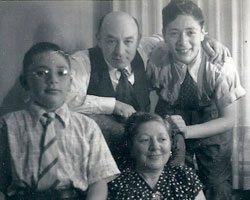 young arthur albert and family