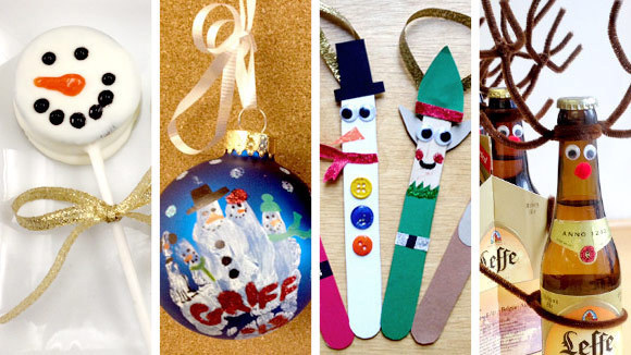 10 christmas craft ideas for kids plus 1 for grown ups too