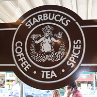 Original Starbucks Logo