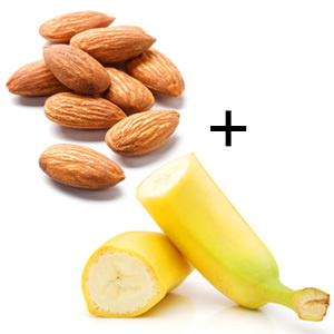 Image result for banana and almond