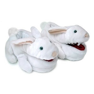 10 new gift ideas for your easter baskets grandparents monty python killer bunny slippers negle Image collections