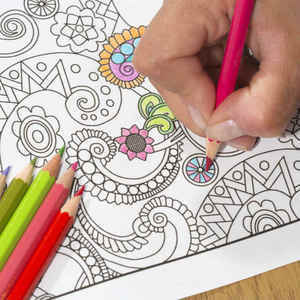Color Us Relaxed Adult Coloring Books