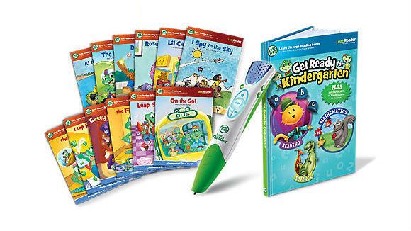 Leapfrog LeapReader Read & Write Book Set: Ready Set Kindergarten (for LeapReader)