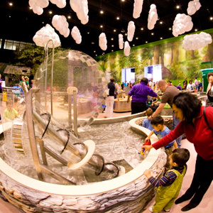 Not only a children's museum in Philadelphia, but a top-of-the-line learning center, The Franklin Institute offers a variety of exhibits, theater shows, educational programs, and more.