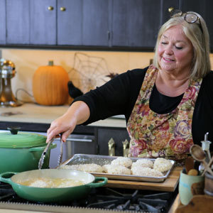 3 halloween recipes from food networks nancy fuller grandparents garlicky chicken parmesan forumfinder Choice Image