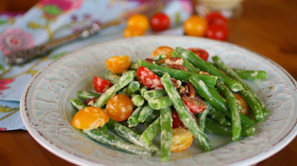 Green Bean Cherry Tomato Salad - Grandparents.com