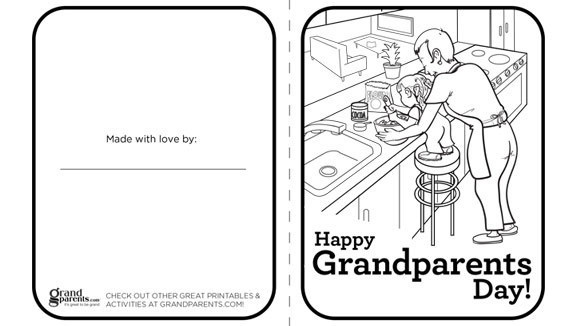 celebrate grandparents day with this free printable greeting card
