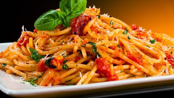Spaghetti and Pesto Trapanese - Grandparents.com