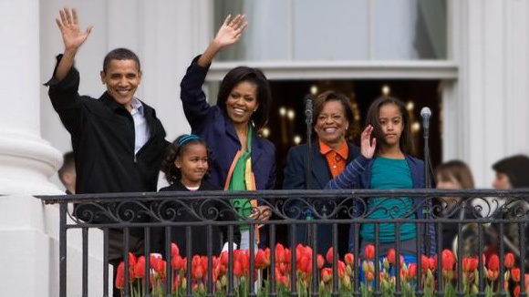 Good ... Today And Announced That Marian Robinson, Michelle Obamau0027s Mother, Will  Leave Her Chicago Home And Move With The Family Into The White House, ...
