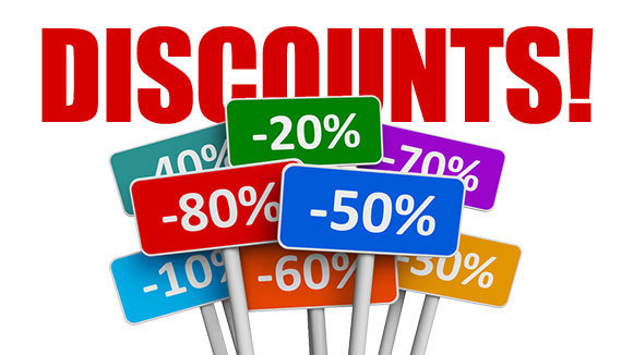 Senior discounts and coupons