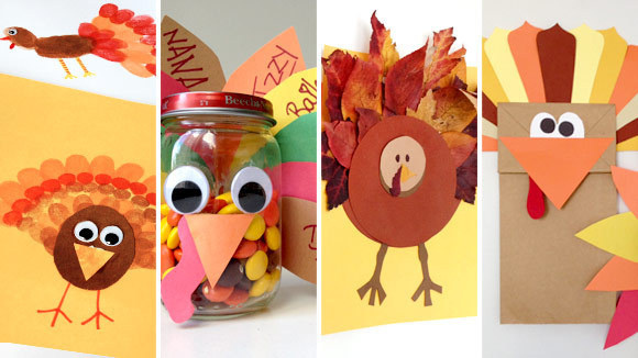 These Easy Turkey Crafts For Kids Are Colorful Inexpensive And Most Of All A Whole Lot Fun To Make