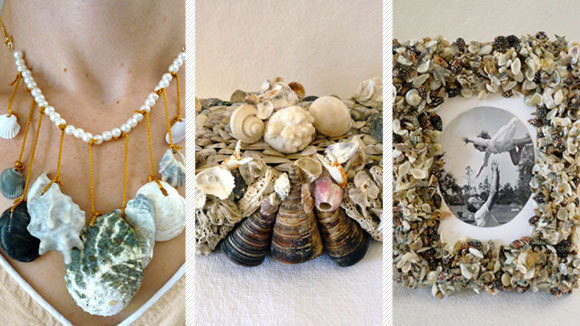 how to make sea shells using fondant