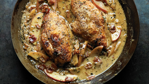 Chicken Normandy (Bacon and Apple Chicken) - Grandparents.com