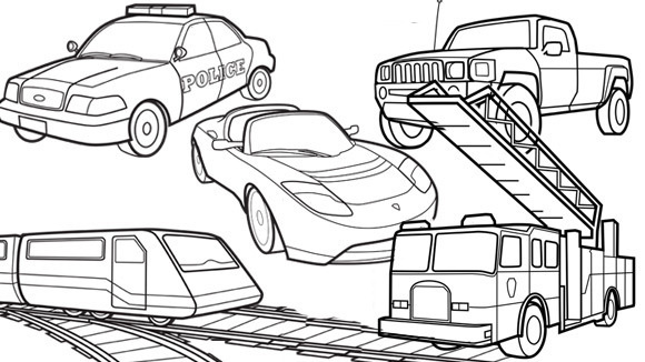 Baby toys colouring pages page 3 - Transportation Grandparents Com