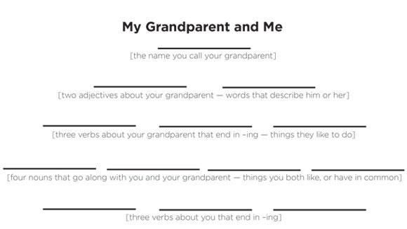 Grandparents Day Poem Template Wwwimgarcadecom
