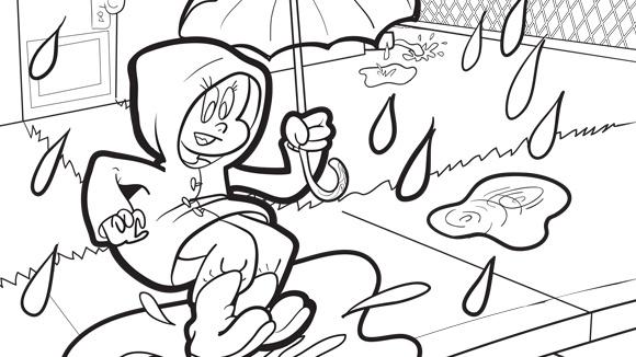 Spring Series: Rainy Day