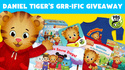 Win the Daniel Tiger's Neighborhood Grr-ific Giveaway!