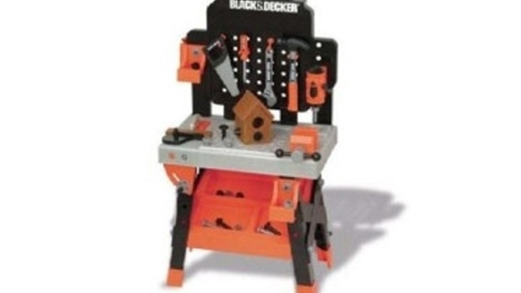 Black Amp Decker Junior Play Workbench Grandparents Com