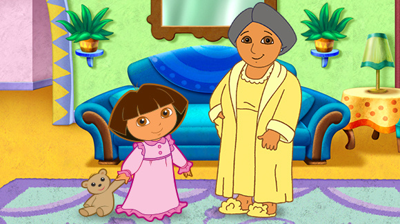 Treat Them To The Ultimate Dora Sleepover Grandparents Com
