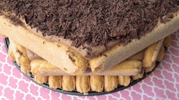 Chocolate Ladyfinger Cake - Grandparents.com