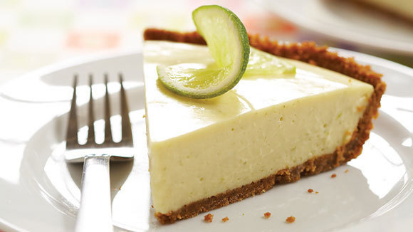 Icebox key lime pie for American cuisine desserts