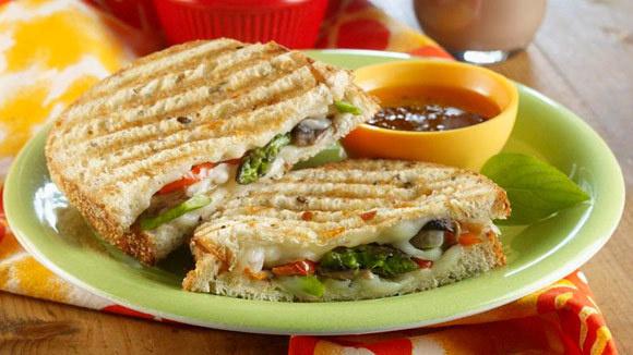 Grilled Veggie Panini - Grandparents.com