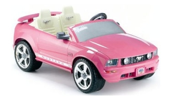 Power wheels barbie ford mustang for Motorized barbie convertible car