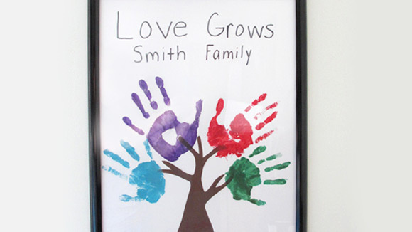 how to make family tree unique school project