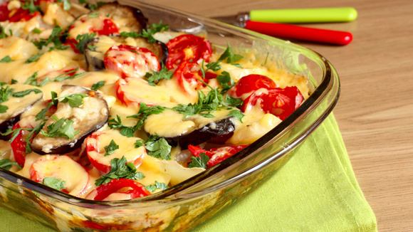 Cheesy Eggplant Casserole - Grandparents.com